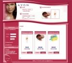 AVON - tvorba www stránek, webdesign, internetové obchody