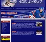 MS hokej - tvorba www stránek, webdesign, internetové obchody
