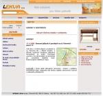 Lekva s.r.o. - Nábytek - tvorba www stránek, webdesign, internetové obchody