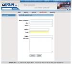 Lekva s.r.o. - Kuchyně - tvorba www stránek, webdesign, internetové obchody