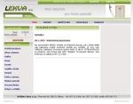 Lekva s.r.o. - Truhlářské potřeby - tvorba www stránek, webdesign, internetové obchody