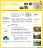 Obec Slavičky - léto - tvorba www stránek, webdesign, internetové obchody