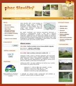 Obec Slavičky - podzim - tvorba www stránek, webdesign, internetové obchody