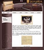 Bohemia Piano - tvorba www stránek, webdesign, internetové obchody