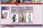 Nest Praha - Raymond Weil - tvorba www stránek, webdesign, internetové obchody