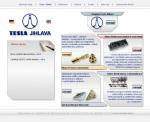 Tesla Jihlava a.s. - tvorba www stránek, webdesign, internetové obchody