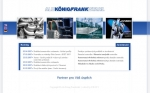 Alu König Frankstahl - úvodka - tvorba www stránek, webdesign, internetové obchody