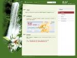 RAF export - import s.r.o. - tvorba www stránek, webdesign, internetové obchody