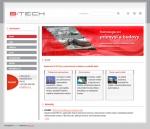 B:TECH, a. s. - tvorba www stránek, webdesign, internetové obchody