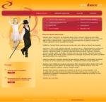 Taneční škola Harmonie - tvorba www stránek, webdesign, internetové obchody