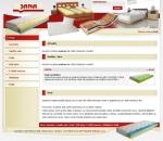 Matrace Jana - tvorba www stránek, webdesign, internetové obchody