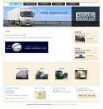 Slavomír Flachs - nákladní vozy - tvorba www stránek, webdesign, internetové obchody