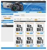 Cyberfoto.cz - tvorba www stránek, webdesign, internetové obchody