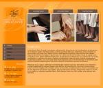 Základní umělecká škola Sedlec - tvorba www stránek, webdesign, internetové obchody