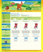 Dětské oděvy Beruška - tvorba www stránek, webdesign, internetové obchody