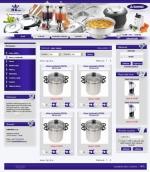 Nerezové nádobí - tvorba www stránek, webdesign, internetové obchody