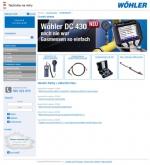 Wöhler Bohemia s.r.o. - tvorba www stránek, webdesign, internetové obchody
