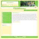 MŠ Sedmikráska - tvorba www stránek, webdesign, internetové obchody
