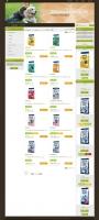 Zdravé krmení - tvorba www stránek, webdesign, internetové obchody